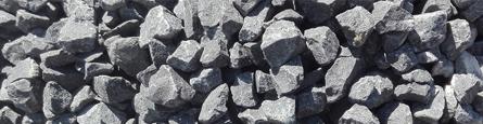 Kamień ogrodowy bazalt, bazaltowy kamień podsypka